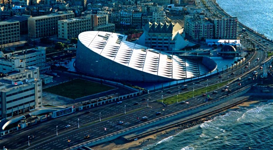 Moderna arhitektura - Page 2 Alexandria_library