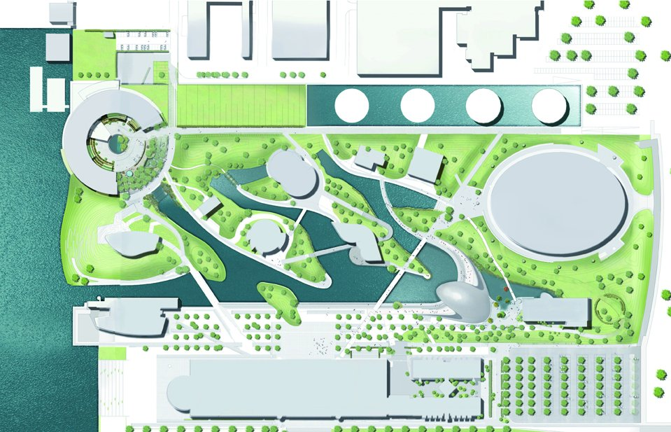 Porsche Pavilion design by HENN Architects